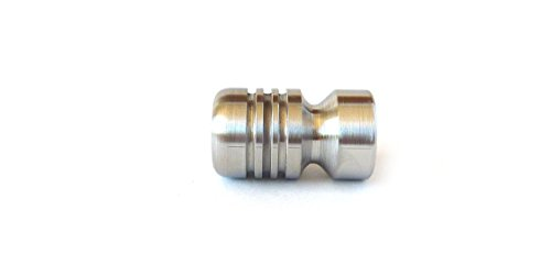 LANYARD BEAD - STAINLESS STEEL BOMBER - MADE IN THE USA