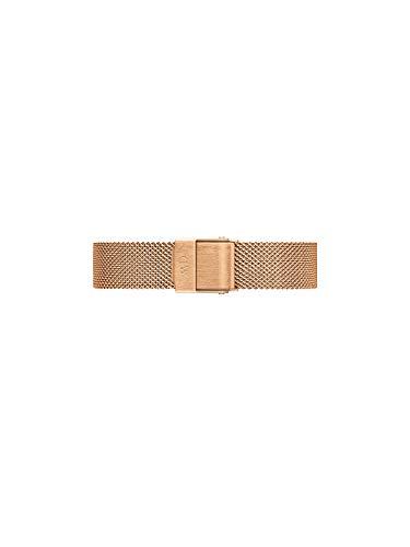 Daniel Wellington Petite Melrose, Roségold Uhrenarmband, 12mm, Edelstahl, für Damen