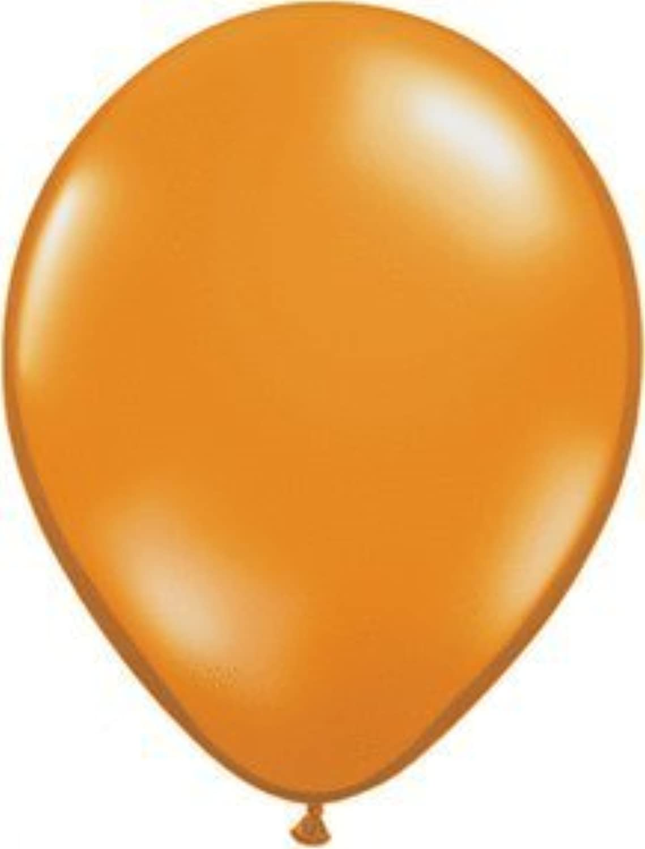 Mayflower 6576 9 Inch Mandarin Orange Latex Balloon Pack Of 100 by Qualatex