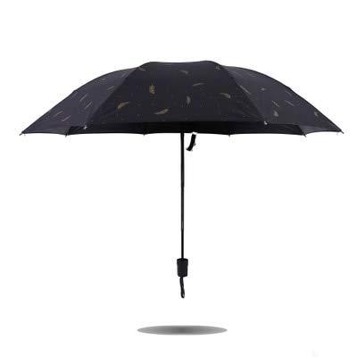 WYJ Regenschirm Geld Regen Und Sonnenschirm Anti-Uv-Regenschirm Für Frauen