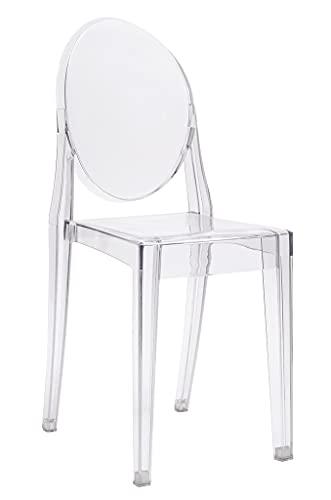 Chaise Transparente Victoria - Polycarbonate