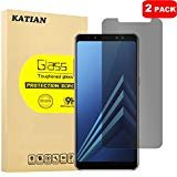 Samsung Galaxy A8 Plus 2018 Privacy Glass Screen Protector,...