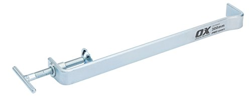 OX OX-P100312 Profile Clamps – Premium PRO Series Brick Profile Clamps – Silver Profile Clamps – 300 mm