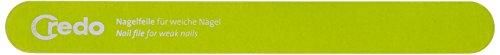 CREDO nagelvijl 180 mm, POP ART (zachte nagels), groen