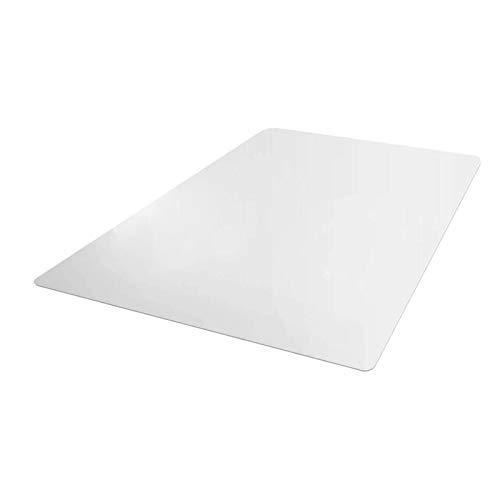 non_brand Alfombrilla de PVC de Primera Calidad para Sillas, Protectores de Piso de 24'x 21' para Escritorios, Oficinas, Hogar - 1,5mm, tal como se describe
