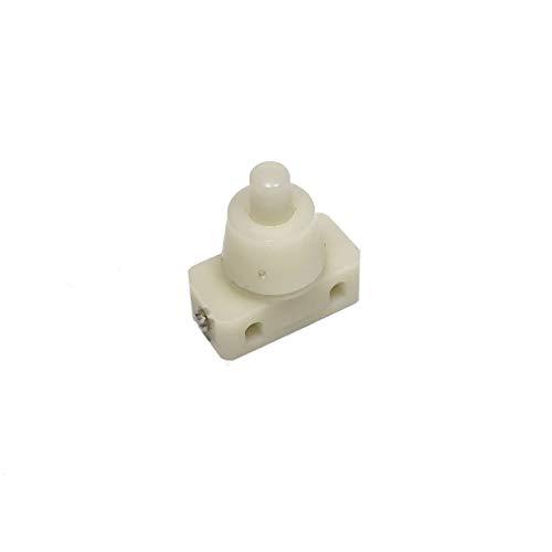 Interruptor pequeño tipo clic clac para flexos y lámparas - Accesorios para lámparas