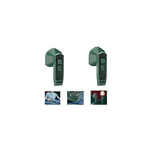 Professional Micro Steam Iron,Micro Plancha De Vapor Profesional,Metal De Titanio, 360 Grados Sin Ángulo Muerto, Mini Plancha Plegable En Seco Y Húmedo, Adecuado Para El Hogar, Viajes (2PCS)