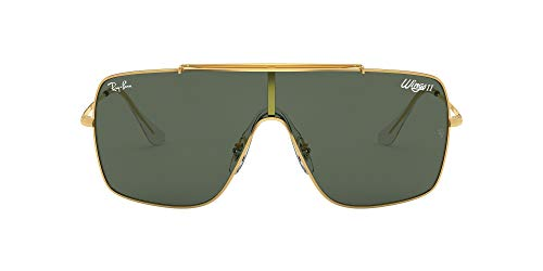 Ray-Ban 0RB3697 Gafas de sol, Gold, 40 para Hombre