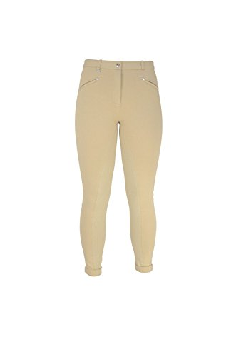 William Hunter Equestrian HyPERFORMANCE-Pantaloni alla cavallerizza da donna, motivo a pois in rilievo