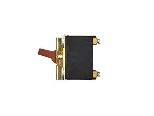 Interruptor de Repuesto, Interruptor para Amoladora Angular - Modelo: DK4-6/2B - 5A 250V/10A 125V - Compatible con 115/125mm Amoladora Angular Skil, FERM