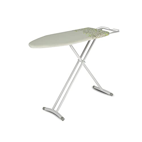Tabla de planchar Placa de hierro plegable para el hogar, ajuste de altura de cinco velocidades, 92 cm * 31 cm Refactor de planchado vertical duradero reforzado mesa de planchar portátil ( Color : B )