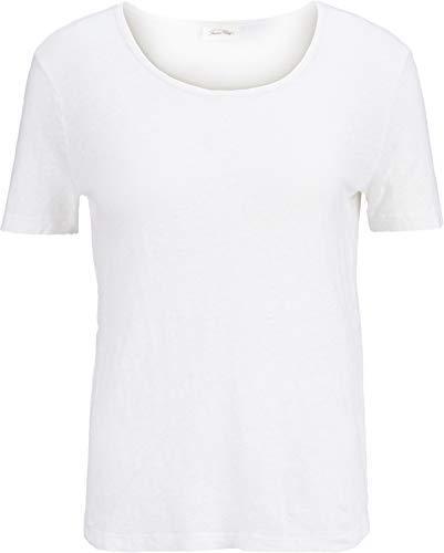 American Vintage Damen Leinenshirt in Weiß S