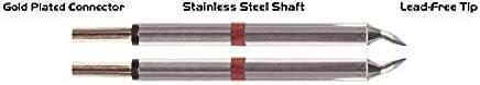 Thermaltronics M80TZ010B Pinzetten-Paar, Pinzetten-Paar, Pinzetten-Paar, 1.00 mm, Meißelförmig B075715M71 | Neues Design  1c98f3