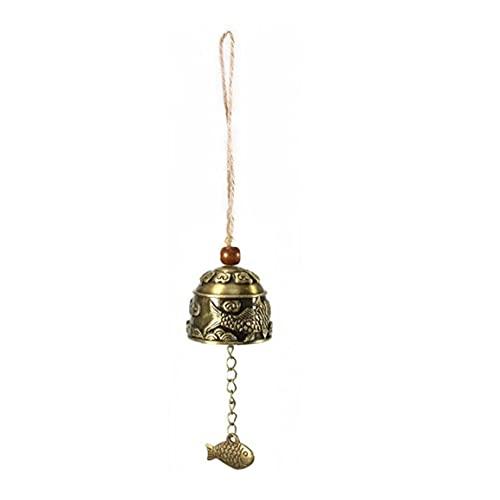 Naisicatar 1 unids artesanías de Regalo para colección de Arte fengshui bendición Feng Shui Viento Afortunado Viento Chime Chime Buda Estatua Estatua Escritorio decoración Buddhism té