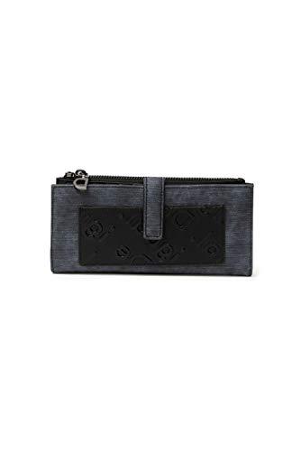 Desigual Long Wallet, Travel Accessory-Cintura Money Donna, Blu, U