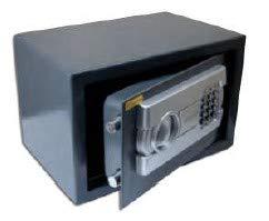Caja fuerte digital para oficina o uso doméstico, para montaje en pared o suelo (200x310x200)