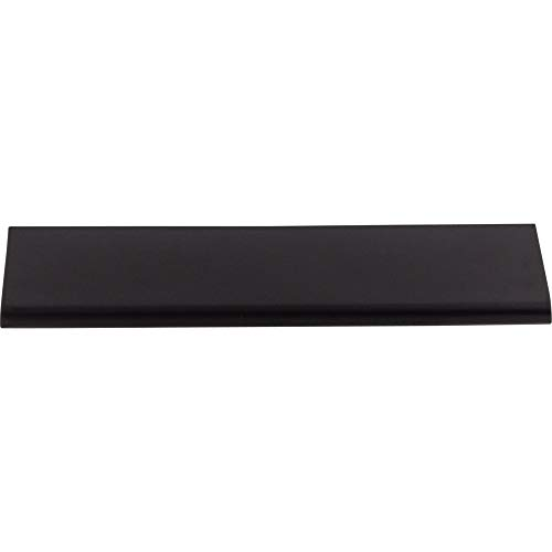 Top Knobs TK503BLK Mercer Collection 6' Europa Tab Pull, Flat Black