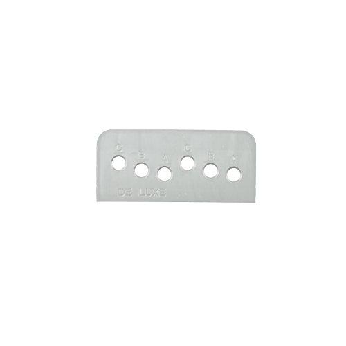 Montage Schablone für Ziehgriffe – Bohrschablone für Balkontürgriff - erleichtert die Montage von Ziehgriffen an Balkontüren oder Schiebetüren