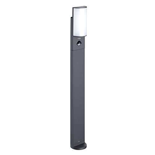 Oktaplex Lighting LED Wegeleuchte mit Bewegungsmelder Belo Motion 70cm Hoch | IP54 Pollerleuchte Außen 800lm 3000K Warmweiß Alu Anthrazit