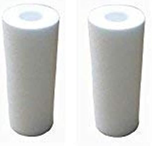 AMPEREUS 5 inch Size Cartridge Water Softener for Washing Machines and Home appliances Pack of 2 Refills