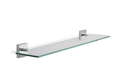 Croydex Flexi-Fix Chester - Estante de Cristal para el baño