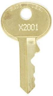 Master Lock X2887 Replacement Keys: 2 Keys
