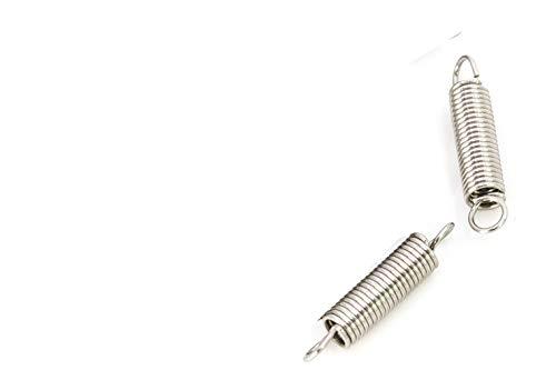 NO LOGO L-Yune, 2pc Draht 1,0 mm Außendurchmesser 8mm Doppelhaken Lange Expansion Zugfedern Hardware Zubehör 304 Edelstahl Länge 60mm-150mm (Größe : 1x8x100mm)