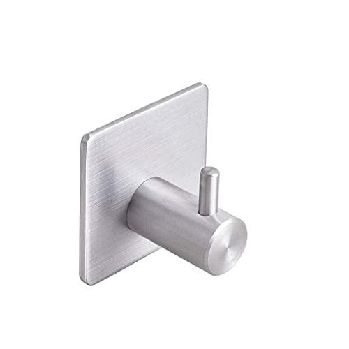 Ganchos de succión sin clavos para el hogar, ganchos de pared de vacío de acero inoxidable, perchas de pared de metal para baño, ganchos de ropa multifuncionales múltiples