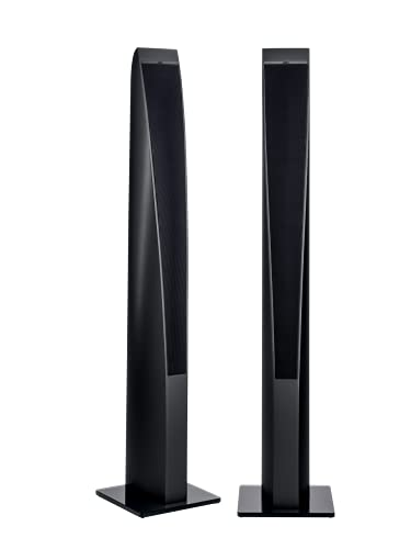 Revox Scala S120 1 Paar 2.5 Wege-Bassreflex Lautsprecher weiß schwarz (Black)