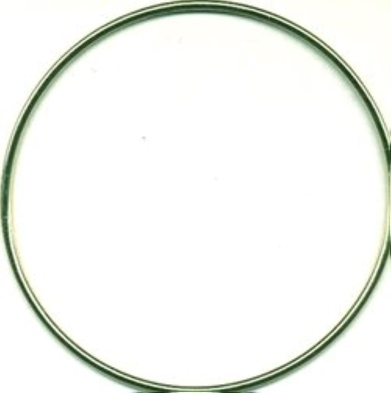 Bulk Buy: Darice Gold Tone Metal Macrame Ring 5