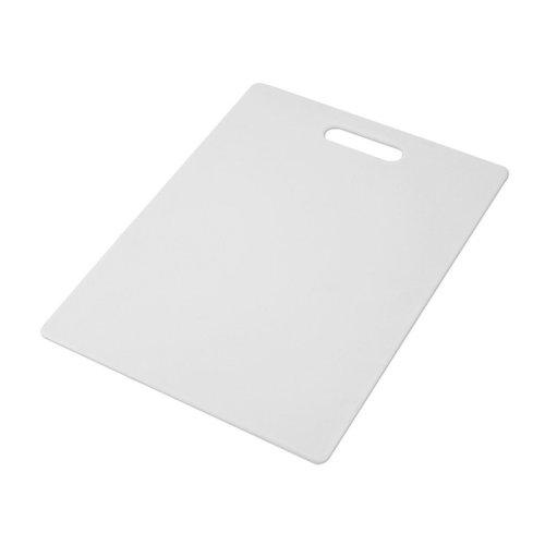 Farberware Nonslip Plastic Cutting Board, 11-Inch-by-14-Inch, White - 78892-10