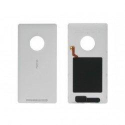 Mobiletechfr Cover Posteriore Copri Batteria Originale per Nokia Lumia 830Bianco PN 00812N2