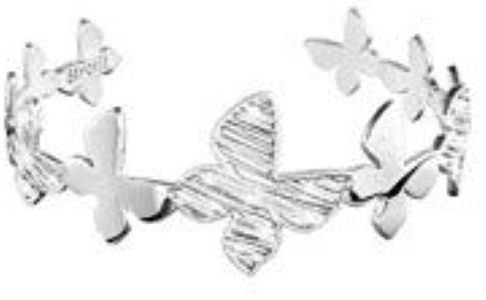 Stroili bracciale rigido per donna in ottone , farfalla  e glitter 1657534