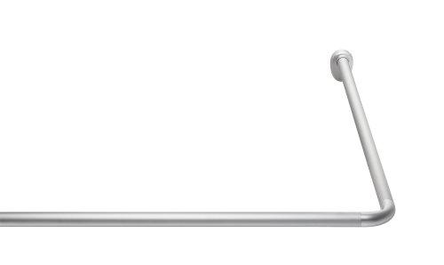 Ridder 595100-350 Barre de douche d'angle universelle Très stable Aluminium anodisé Ø 25mm