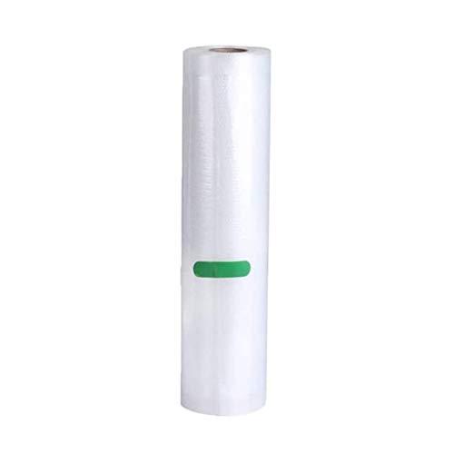 Ewendy - Bolsa para aspiradora (1 rollo), transparente, D 32X500cm