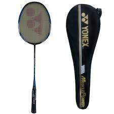 YONEX Muscle Power 22 Plus Strung Badminton Racquet (Black/Blue, G4, 85-92 Grams, 24 lbs)