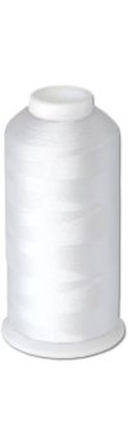 Find Discount 12-cone Commercial Polyester Embroidery Thread Kit -White P946 - 5500 yards - 40wt