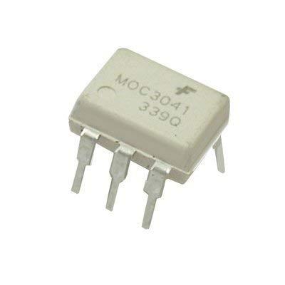 UIOTEC 10PCS MOC3041M Dip-6 MOC3041 6-Pin*