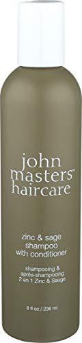 John Masters Organics Shampooing 2 en 1 Zinc/Sauge, 236 ml