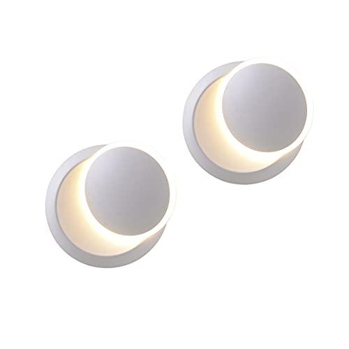 Lámpara De Pared Nórdico Moderno,YABAG LED Apliques Pared Salon, 5W Luz de...