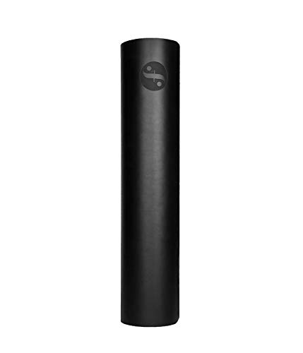 Fitindoor Minimalista Esterilla de Yoga Antideslizante de Caucho Natural Alfombrilla de Yoga Esterilla de Pilates Deporte 183cm x 61cm 5mm