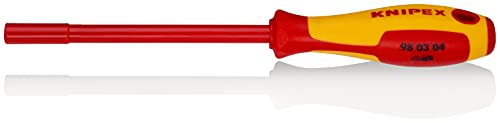 KNIPEX 98 03 04 Steckschlüssel mit Schraubendreher-Griff 230 mm