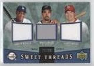 Mike Lowell; Adrian Beltre; Scott Rolen #21/99 (Baseball Card) 2004 Upper Deck Sweet Spot - Sweet Threads Triple - Jerseys #STT-BLR