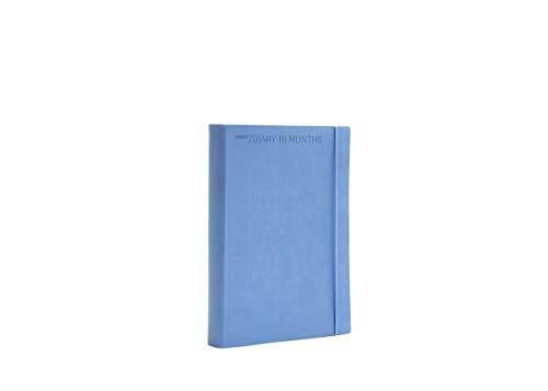 Agenda giornaliera flexy diary 18 mesi 2021 colore lavanda cm 15 x 21