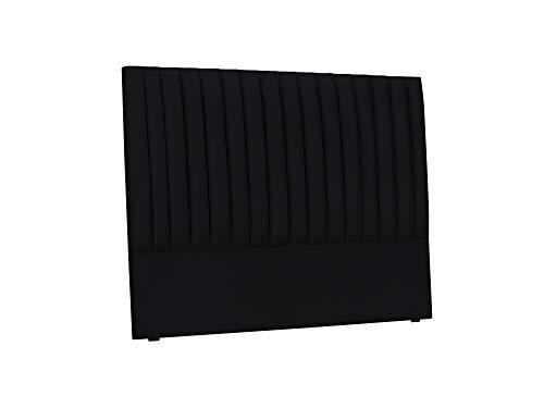 Cosmopolitan Design Tête De Lit, Nj, Noir, 140x10x120