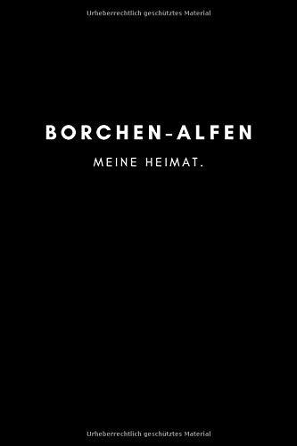 Borchen-Alfen: Notizbuch, Notizblock, Notebook   Punktraster, Punktiert, Dotted   120 Seiten, DIN...