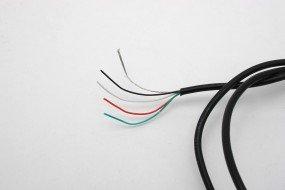 Göldo EL905 Pickup-Kabel, abgeschirmt, 4-adrig / 1 Meter