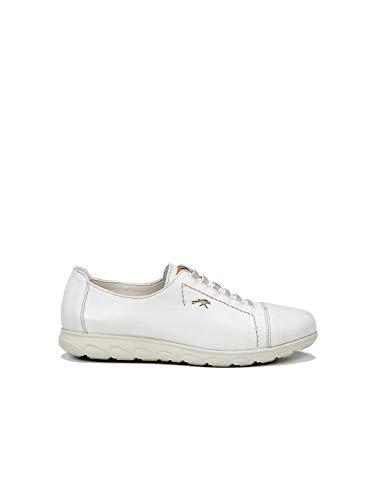 Fluchos | Zapato de Mujer | NUI F0854 Samun Cristal Com.6 | Zapato de Piel | Cierre con Elásticos | Piso de Goma