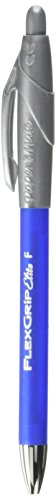 Paper Mate 85583 FlexGrip Elite Retractable Ballpoint Pens, Fine Point, Blue, 12 Count