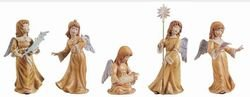 Kaiser Engel mit Notenblatt 21 cm Honig Engel